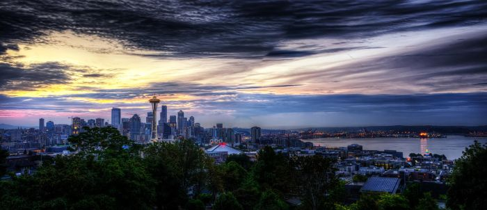 Kerry Park Panorama by UrbanRural-Photo