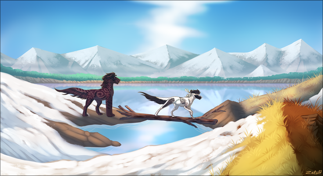 Lakeside by Zetapold