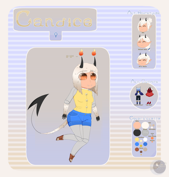 [C-S][MASCOT] Candice Official Reference__2018 by LunarCherub