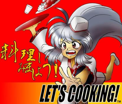 Commission: Let's Cooking! - Coloured by Kurumi-Lover
