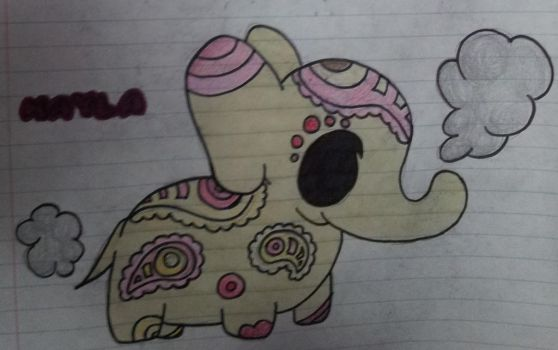 Teacup Elephant - Kayla by MaleticAnimeWatcher