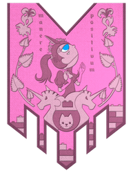 Wall of Charm - Princess Unikitty by mickeyelric11
