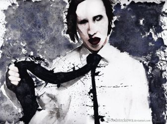 Marilyn Manson by Woodstockowa