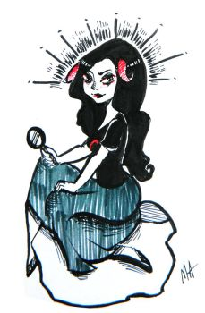 Aradia by silent-fish