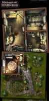 Mansions of Madness, details 3 by henning
