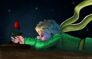 My Rose - Le Petit Prince by DrizzlyMoon
