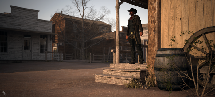 Lonesome Cowboy by scifigiant