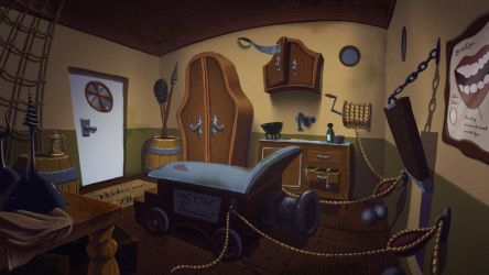 Pirate Dentist! Background 1 by Bagam-The-Animator