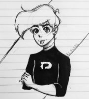 Inktober Day 24 Danny Phantom  by Ailizerbee08