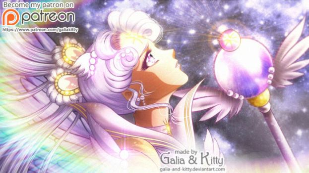 PATREON FAN ART: Sailor Cosmos by galia-and-kitty