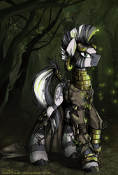 Trees, Gears and Fireflies by NastyLady