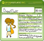 Meet SuperFluff! by MossyRiver