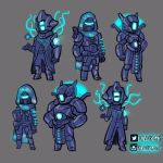 Destiny Age of Triumph Vault of Glass Armor Sets by KevinRaganit