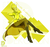 Yellow Diamond by Deko-kun