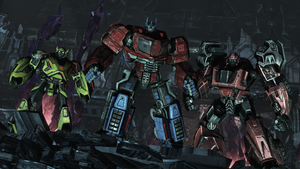 Autobot Victory by Barricade24