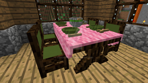 Minecraft - Dining room 2 by Timidouveg