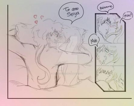 Seiya+Serena: Besame by Beloved-Star