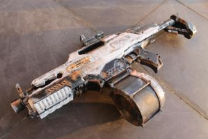 Worn out Nerf Rapid Strike (COMPLETE) by arifije