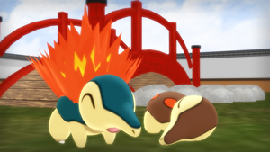 MMD PK Cyndaquil DL by 2234083174