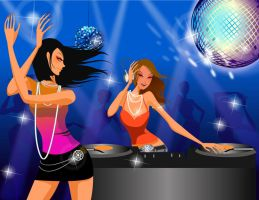 Party Girls by ronaldesign