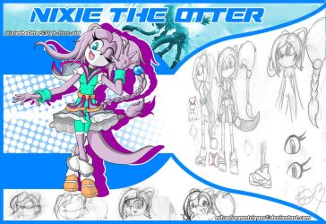 (GC) 2.1 - Nixie the Otter by NitroDragonTrigger