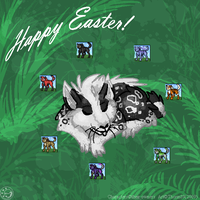 Happy Easter 2009 by ThorinFrostclaw