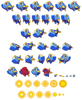 Mega Man ZX Advent: Rumblefish by DarkSamus993