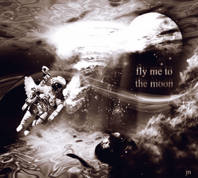 Fly Me to the Moon by superjesster
