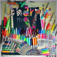 Sharpie   png's by CeciiDeRose