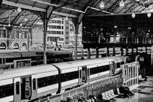 London Victoria Station by UdoChristmann
