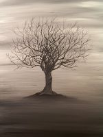 Lone Barren Tree by vhampyre
