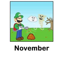 November by minimariodrawer