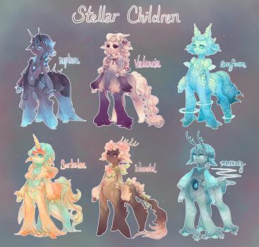 Stellar Children - Batch 1! Closed thank you! by quislings
