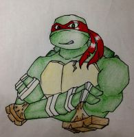 TMNT 2012 Raphael (?) by L4Dragon