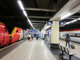 Euston Station by Tempest19