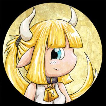 Zodiac Chibi of the Day - Taurus by lordzasz