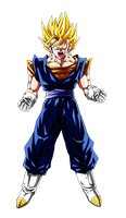 Colored 063 - Vegetto 002 v2 by VICDBZ