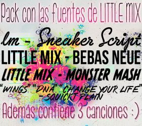 Little Mix Fuentes by Immacrazyweirdo