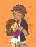 CM:  Nicole and Liam by PrincessCallyie