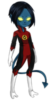 Commission: Nightcrawler by duckyduckie