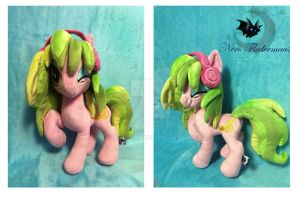 Custom plushie Lemon Zest by Legadema