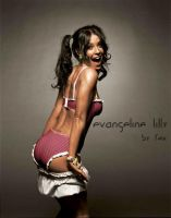 Evangeline Lilly Colored by fexpepe