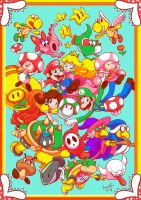 MarioWorld by brunotsu