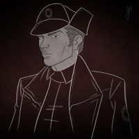 General Hux Sketch by JoeHoganArt
