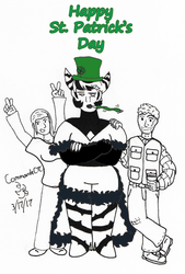 Dendritic's St. Patrick's Day by CommanderCTC