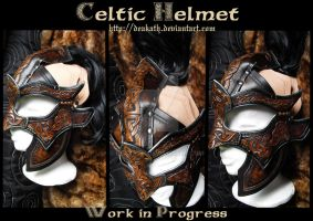 Celtic Male armor : Helmet by Deakath