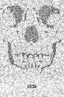 Scribble Skull (drawing) by Crigger