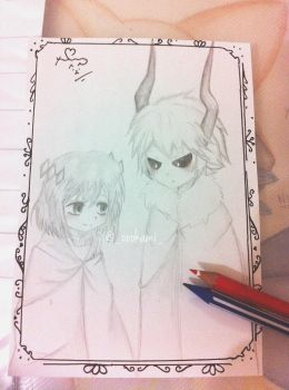 fanart by me the gray garden by oookamiofficial