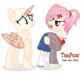 mlpbase(collab) Manga is literature by InkLight by InkLightArtist