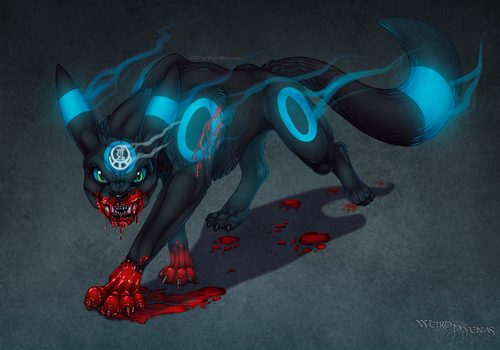 Night Time Wrath -Commissioned- -Bloody- by Aponder